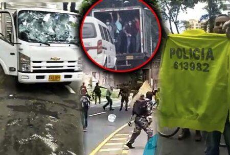 EN VIDEO: Denuncia: policías vestidos de civil abren fuego en Medellín y generan pánico