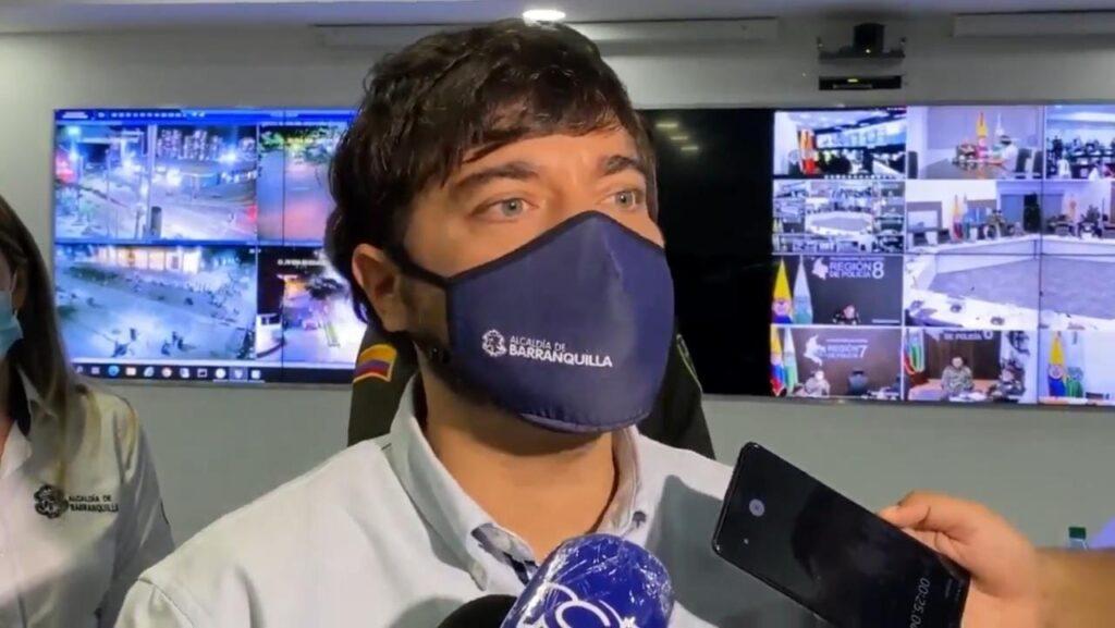 Se capturaron 5 personas tras las protestas del miércoles en Barranquilla